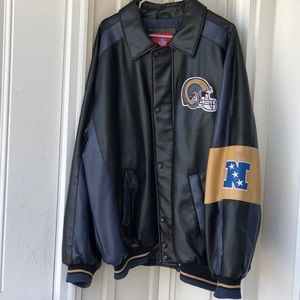 Vintage Los Angeles Rams/St. Louis leather Jacket